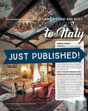 LLT Live Life Travel Dream Honeymoons to Italy - Just Published