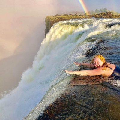 Devil's Pool, Victoria Falls, Zambezi River, Zambia, Africa. Amazing Experience!!!
