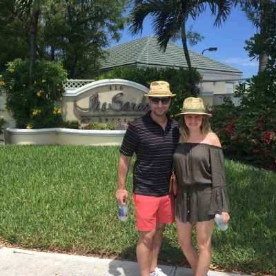 Morgan with Husband, Will, Turks & Caicos
