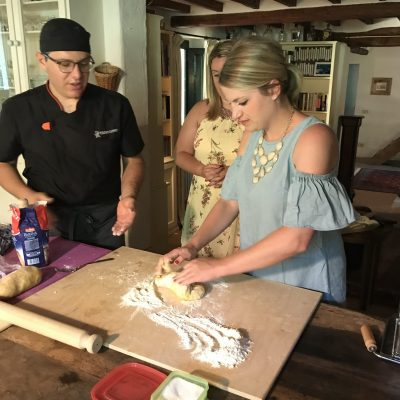 Pasta making lesson in Italy